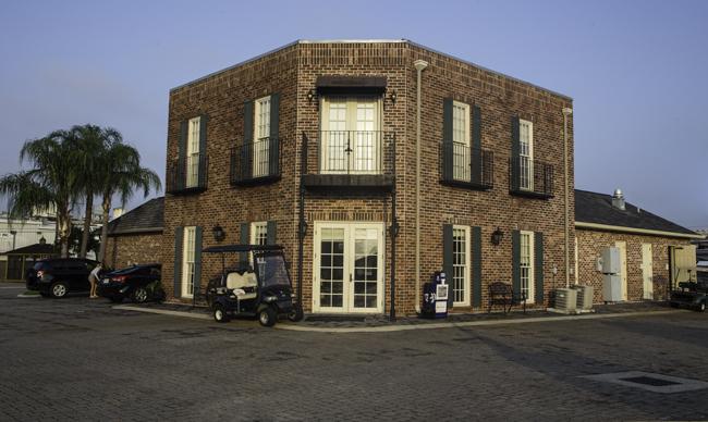 Rezeption French Quarter RV Resort, New Orleans Foto: Christine Lisse