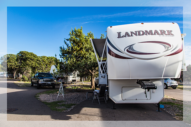 Trailer Village RV Park |Grand Canyon National Park | South Rim | Arizona Foto: Christine Lisse
