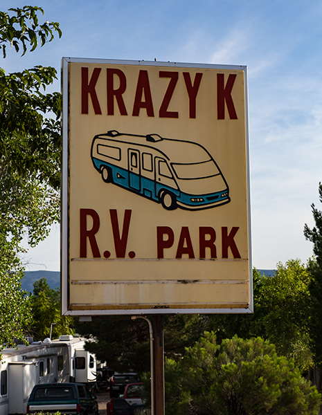 Krazy K RV Park | Camp Verde | Arizona Foto: Christine Lisse