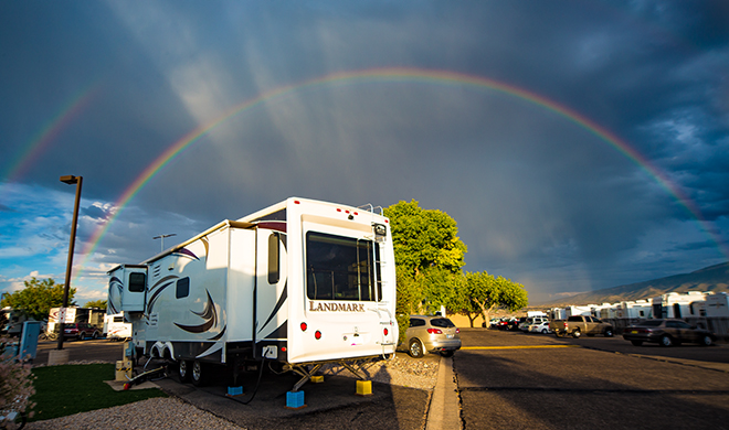 Stagecoach Stop RV Park |Albuquerque | New Mexico Foto: Christine Lisse