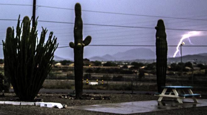 Gewitter über Tucson