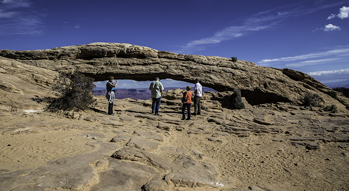 Mesa Arch | Canyonlands National Park | Island in the Sky | Utah Foto: Peter Lisse