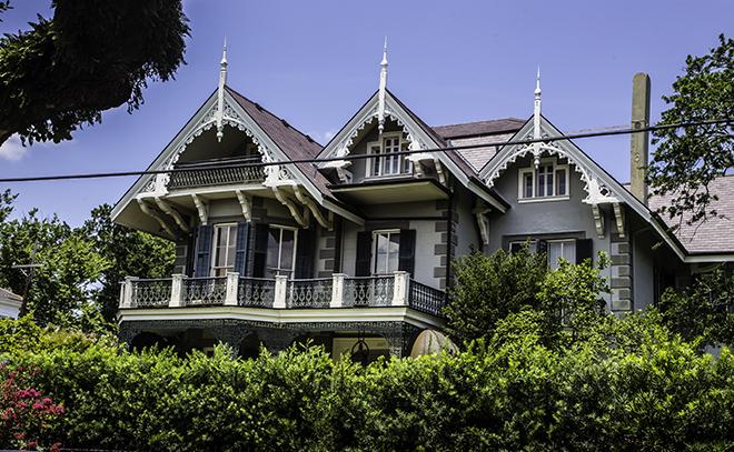 Koch-May House im Garden Distict, New Orleans Foto: Christine Lisse