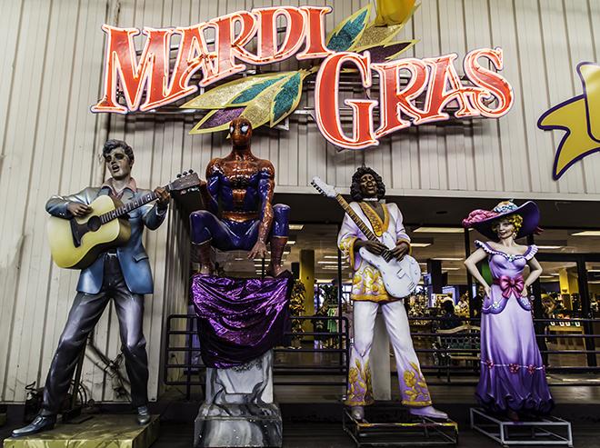 Mardi Gras World in New Orleans, Lousiana Foto: Christine Lisse