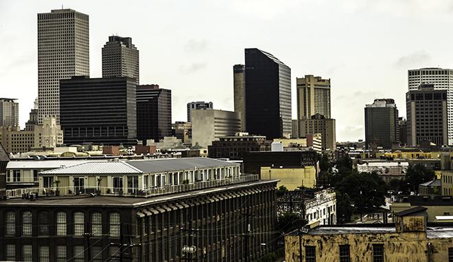 Skyline New Orleans, Louisiana Foto: Christine Lisse