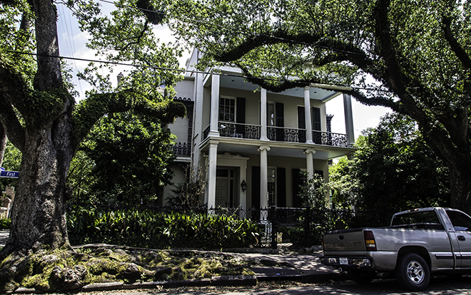 Ann Rice's  House im Garden Distict, New Orleans Foto: Christine Lisse
