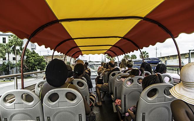 Hop-on Hop-off Bus in New Orleans Foto: Christine Lisse