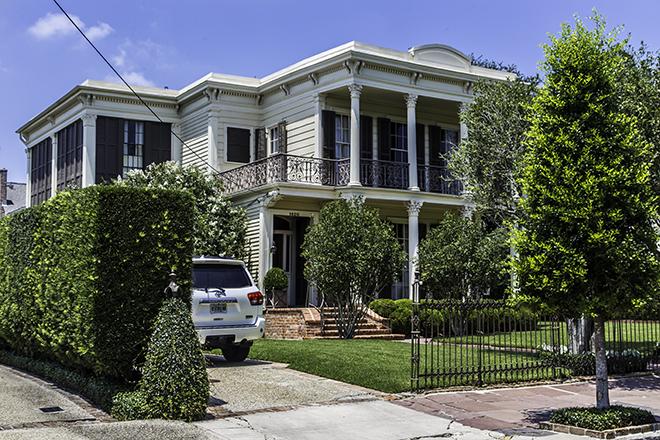 Archie Manning's Home im Garden Distict, New Orleans Foto: Christine Lisse