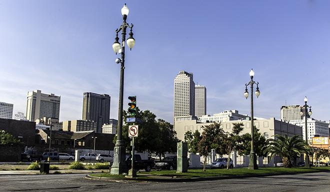 N Rampart St in New Orleans, Louisianna Foto: Christine Lisse