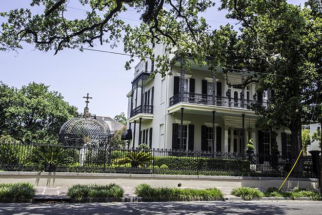 Lonsdale-McStea -Rice House im Garden Distict, New Orleans Foto: Christine Lisse