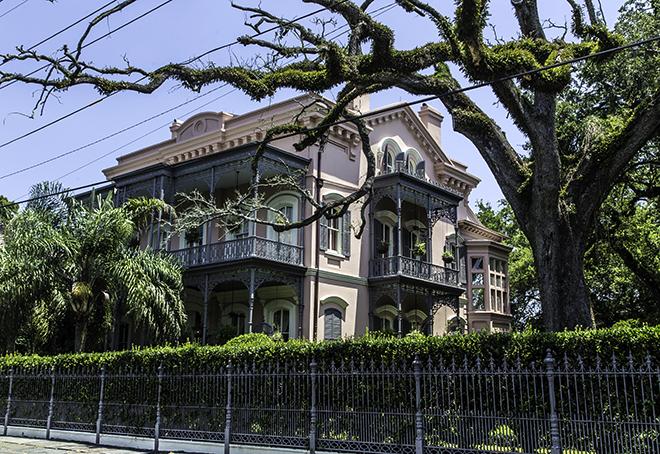 Carroll-Crawford- House im Garden Distict, New Orleans Foto: Christine Lisse