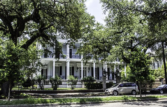 Bruckner House im Garden Distict, New Orleans Foto: Christine Lisse