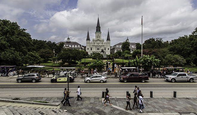 Jackson Square im French Quarter in New Orleans, Louisiana Foto: Christine Lisse