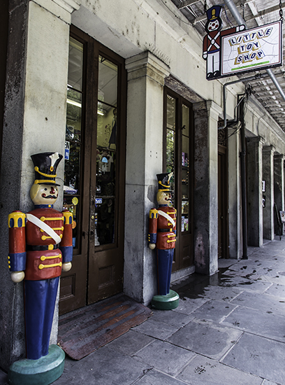 Little Toy Shop im French Quarter in New Orleans, Louisiana Foto: Christine Lisse