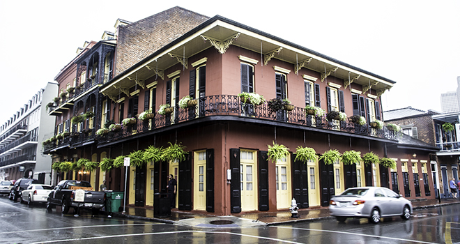 French Quarter in New Orleans, Louisiana Foto: Christine Lisse