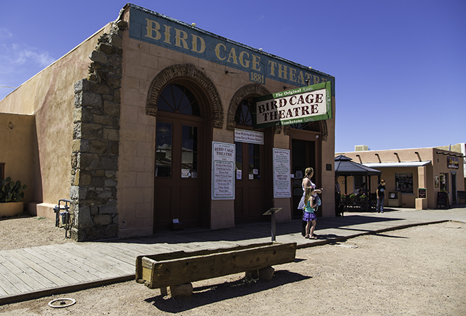 Bird Cage Theater in Tombstone, Arizona Foto: Christine Lisse