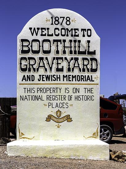 Tombstones Friedhof Foto: Christine Lisse