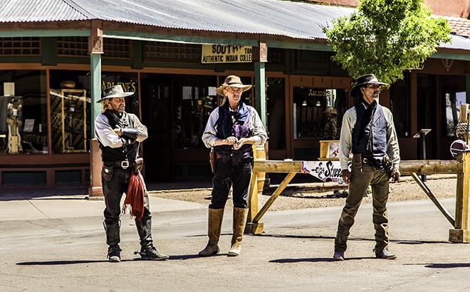 die Cowboys von Tombstone Foto: Christine Lisse