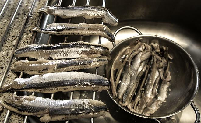 fermentierte Fische Foto: Christine Lisse