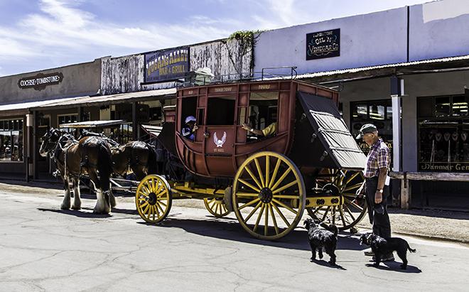 Debby und Faya in Tombstone, AZ Foto: Christine Lisse