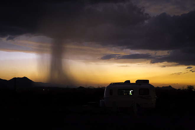 Arizona Monsoon Foto: Christine Lisse