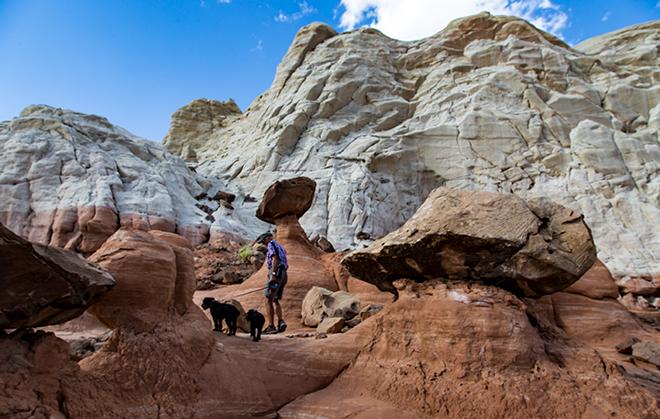 Paria Rimrocks Toadstool Hoodoos | Utah Foto: Christine Lisse