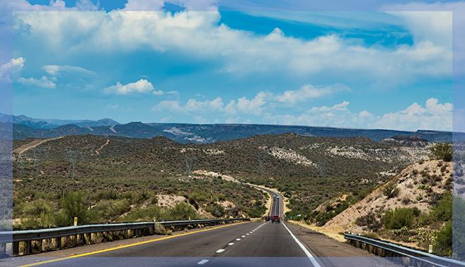 durch die Berge des Black Canyon Foto: Christine Lisse