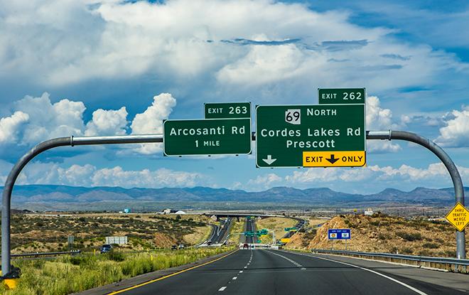 Interstate I-17 | Phoenix Area | Arizona Foto: Christine Lisse