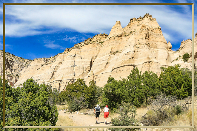 Cave Loop Trail | Tent Rocks National Monument | New Mexico Foto: Peter Lisse