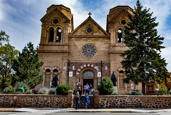 Kathedrale Heiliger Franziskus von Assisi | Santa Fé | New Mexico Foto: Christine Lisse