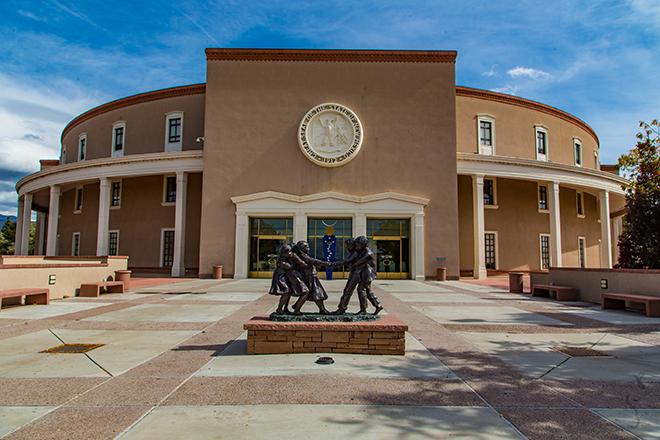 New Mexico State Capitol | Santa Fé Foto: Christine Lisse
