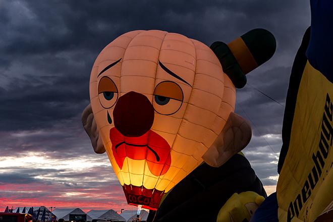 Coco the Clown | Albuquerque International Balloon Fiesta | New Mexico Foto: Christine Lisse