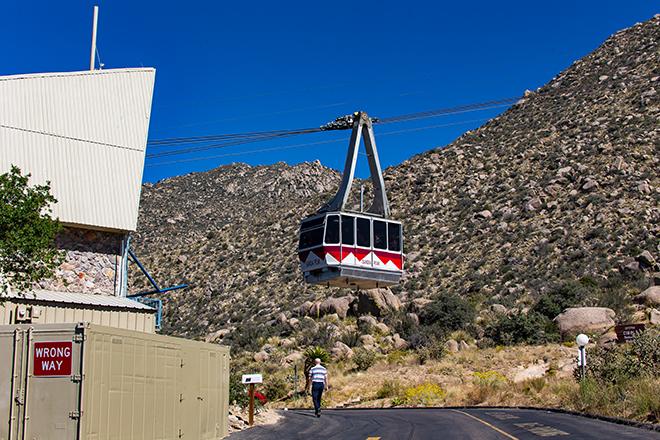 Sandia Peak Tramway | Albuquerque | New Mexico Foto: Christine Lisse