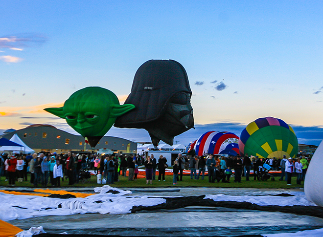 Albuquerque International Balloon Fiesta | New Mexico Foto: Peter Lisse