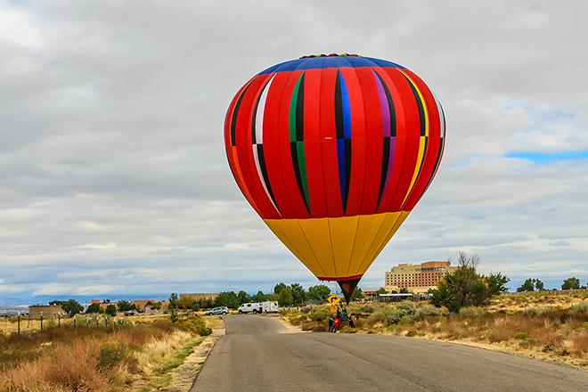 Ballon: Skyscraper | Pilot: Dwayne Osborne Foto: PeterLisse