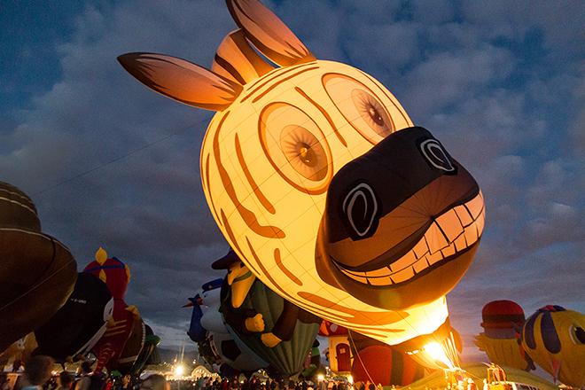 Mister Z | Albuquerque International Balloon Fiesta | New Mexico Foto: Christine Lisse