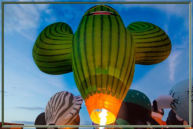 Sahuaro Grande Dude | Albuquerque International Balloon Fiesta | New Mexico Foto: Christine Lisse