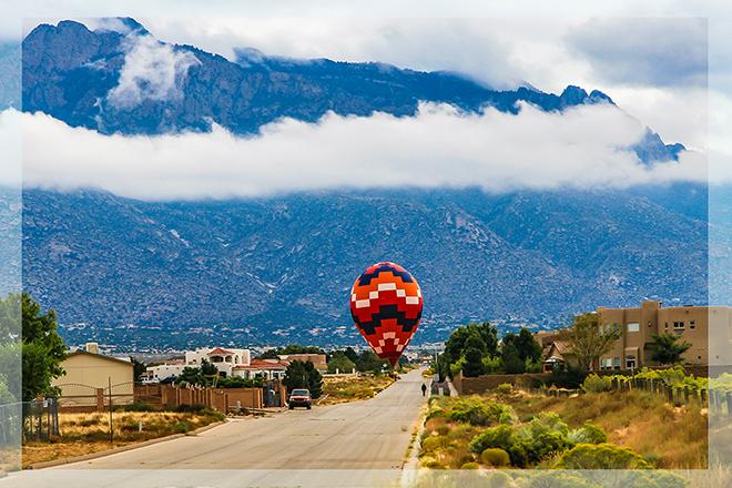 Albuquerque International Balloon Fiesta | New Mexico Foto: Peter Lisse
