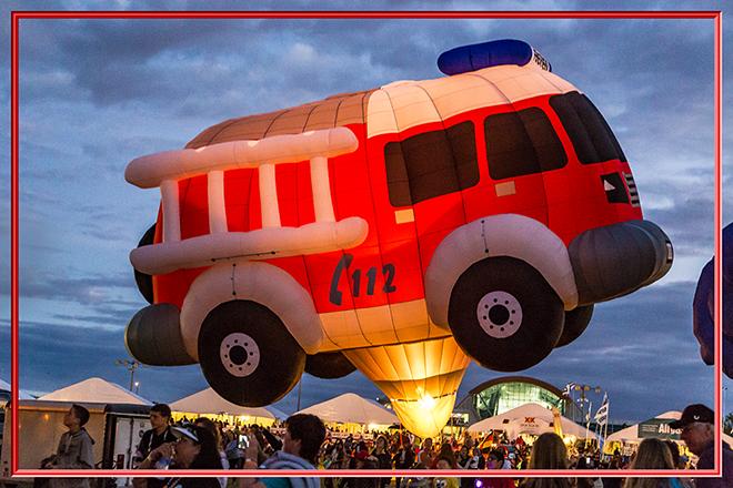 Feuerwehr |  Albuquerque International Balloon Fiesta | New Mexico Foto: Christine Lisse