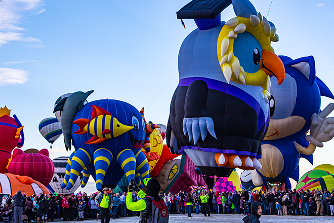 Sea Fantasy & Olwbert Eyenstein | Albuquerque International Balloon Fiesta | New Mexico Foto: Christine Lisse
