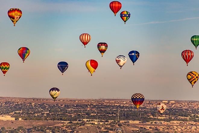 Albuquerque International Balloon Fiesta 2015