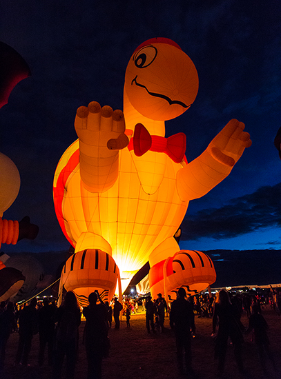 Mister Bup |  Albuquerque International Balloon Fiesta | New Mexico Foto: Christine Lisse