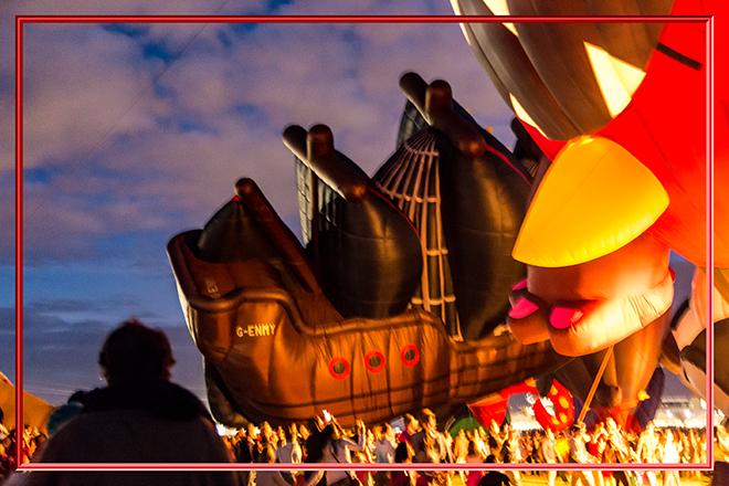 Pirate Ship |  Albuquerque International Balloon Fiesta | New Mexico Foto: Christine Lisse