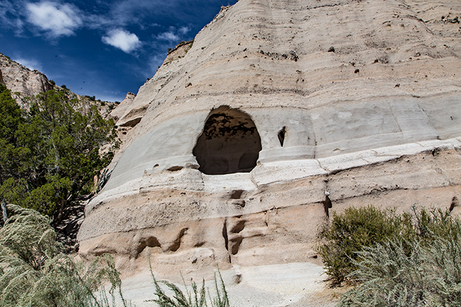 Cave Loop Trail | Tent Rocks National Monument | New Mexico Foto: Christine Lisse
