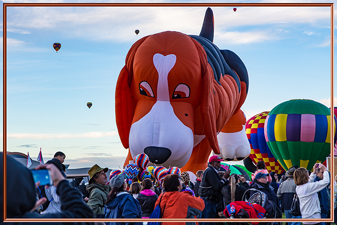 Beagle Maximus | Albuquerque International Balloon Fiesta | New Mexico Foto: Christine Lisse