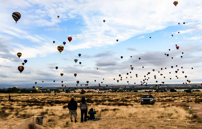 Albuquerque International Balloon Fiesta   New Mexico Foto: Christine Lisse