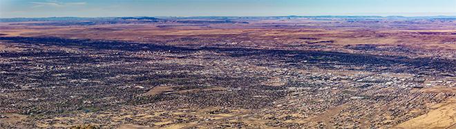 Panorama Albuquerque | New Mexico Foto: Christine Lisse