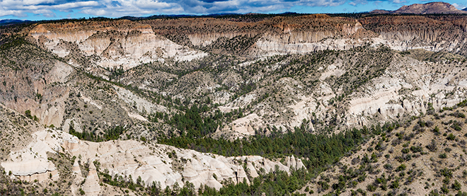 Veterans' Memorial Scenic Overlook | Tent Rocks National Monument | New Mexico Fotos: Christine Lisse