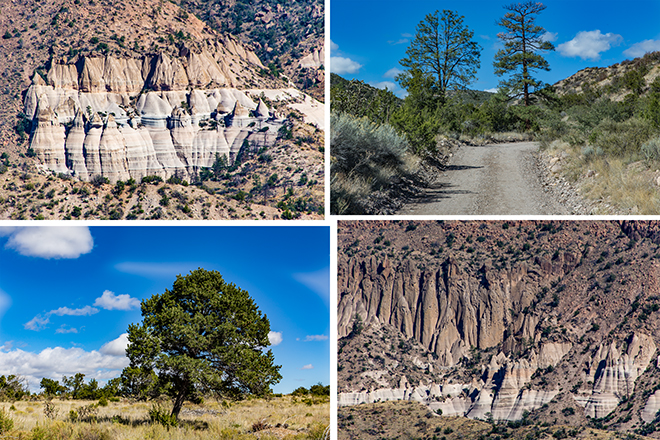 Scenic Overlook | Tent Rocks National Monument | New Mexico Fotos: Christine Lisse