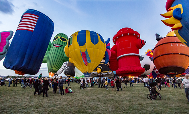 Albuquerque International Balloon Fiesta | New Mexico Foto: Christine Lisse